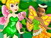 Play Tinkerbell Vs Iridessa Fairyes Battle