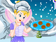Play Tinkerbell Winter Energy Cookies
