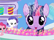 Play Twilight Sparkle Bubble Bath