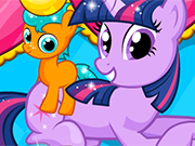 Play Twilight Sparkle Gave birth twin