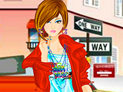 Play Unique Street Girl Dressup