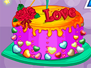 Play Valentine Day Cake
