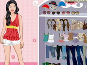 Play Vanessa Anne Hudgens Dress up