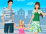 Play Very Happy Family Dressup