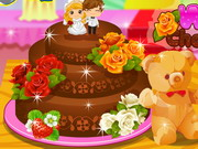 Play Wedding Chocolate Cake