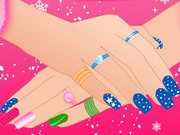 Play Winter Nails Design