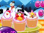 Play X-mas Cuppy Cake