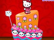 Play Yummy Hello Kitty Cake
