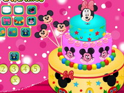 Play Yummy Minnie Mouse Cake