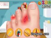 Play Zoe Nail Doctor